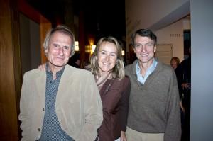 Laurie Skreslet, Sharon Wood, Pat Morrow